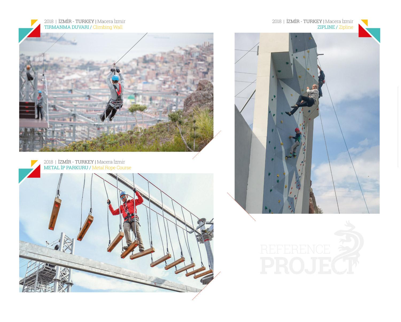 Projeler Macera Izmir Akca Park